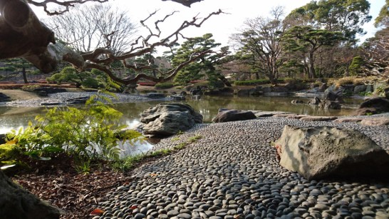 Imperial palace gardens Tokyo