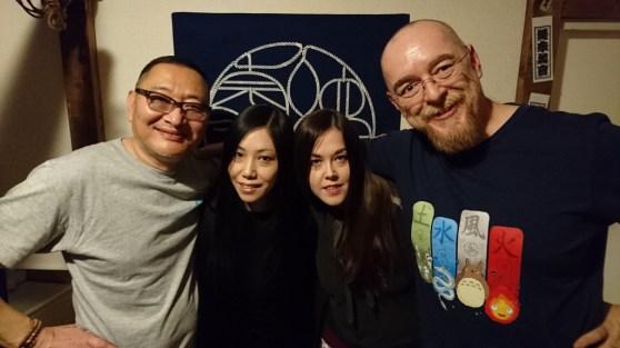 With Naka Akira Sensei and Iroha Shizuki