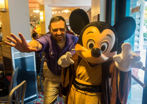 John and Mickey use the Force