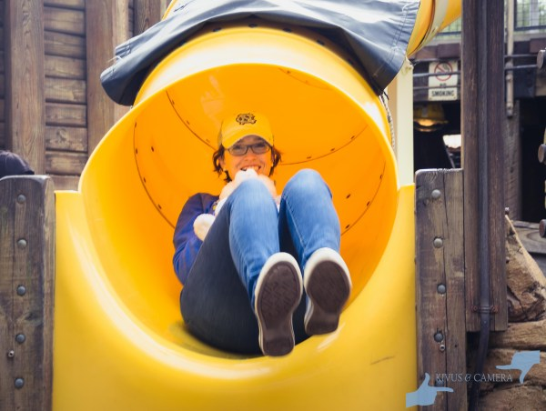 Boneyard slide!