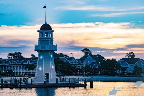 The Yacht Club Lighthouse as Day Break