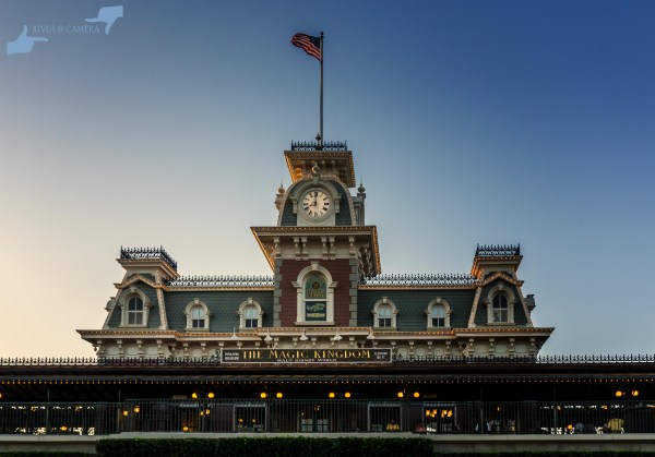 Dusk at the Magic Kingdom