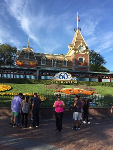 Disneyland Entrance (picture via Howie)
