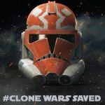 #CloneWarsSaved