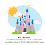 Pink Castle Wait Page