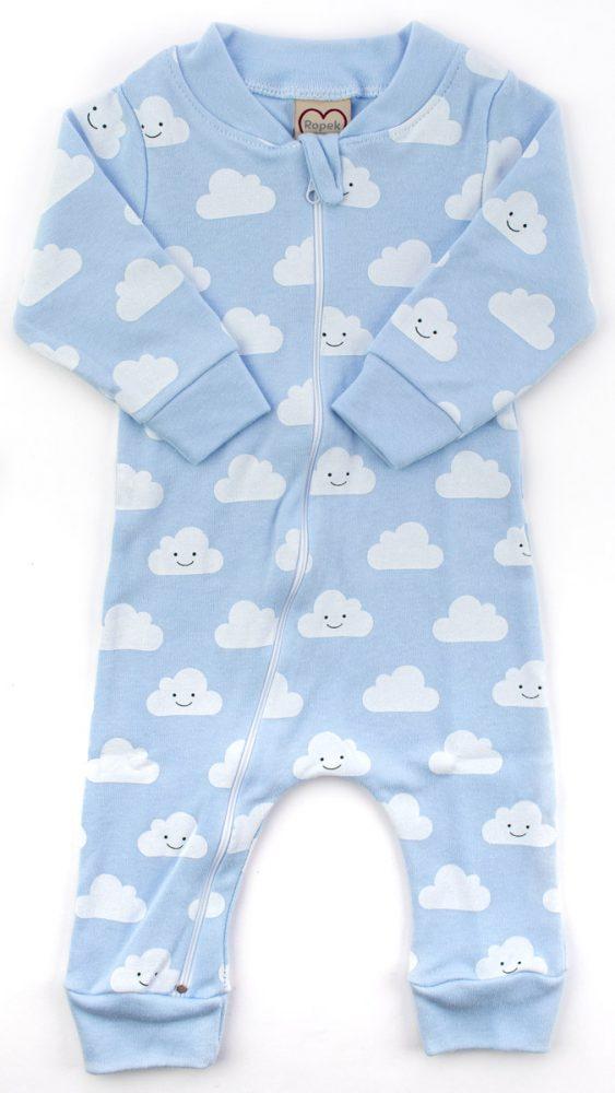 macacão bebê nuvem