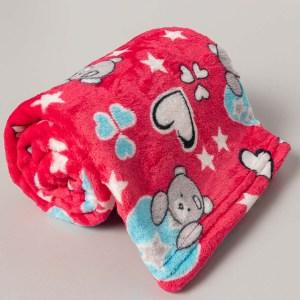 manta infantil microfibra