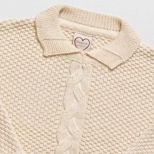 poncho infantil lã