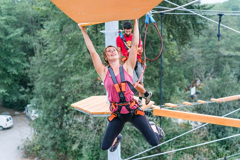 Rope Runner Ladies Calling on Courage Squamish