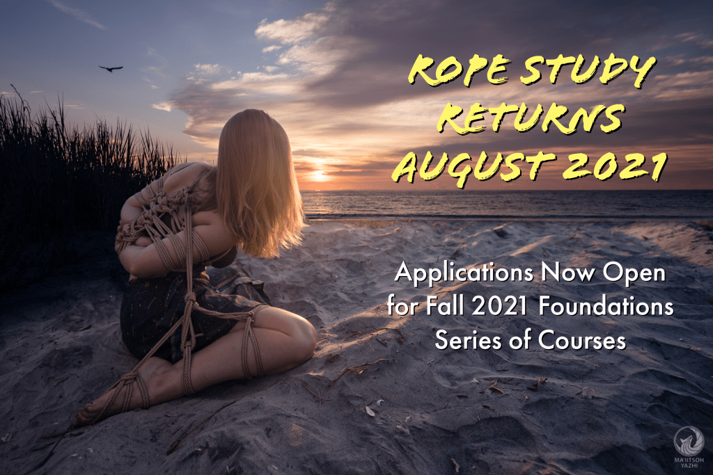 Rope Study Returns! Applications Now Open for Fall 2021