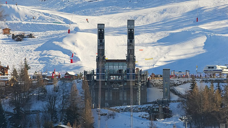 Vanoise Express Les Arcs, France cable car online booking 2021