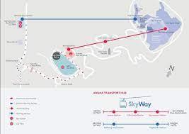 awana cable car genting skyway map