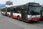 Papercraft recortable del autobus Renault Agora 18 metros Citybus. Manualidades a Raudales.