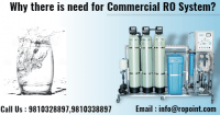 Why there is need for Commercial RO System?