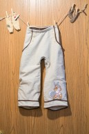 Easy elastic waist children's pants