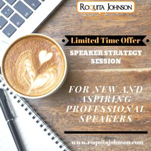 speaker strategy session