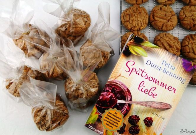 Erdnussbutterkekse - Spätsommerliebe