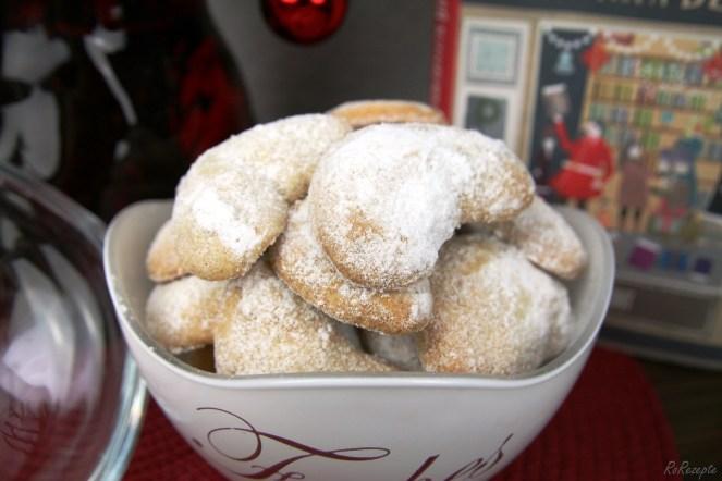 Nuss-Vanillekipferl - Weihnachten in der wundervollen Buchhandlung