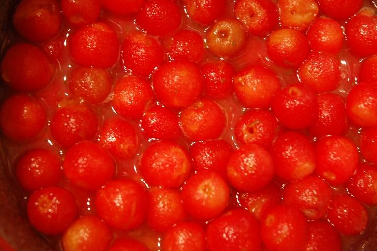 sour cherries!