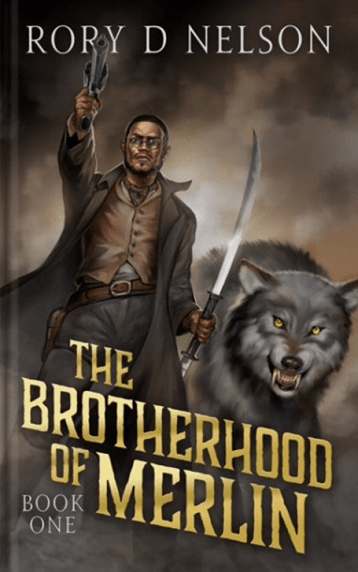 The Brotherhood of Merlin: Book One is available on Amazon