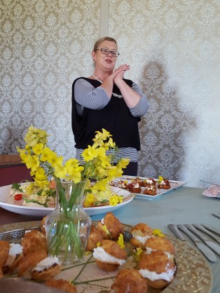 Elmarie Leonard at Geelbek Restaurant