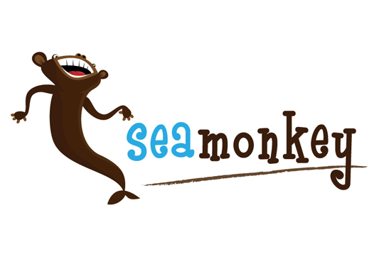 Sea Monkey Boat Decal