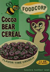 Cocoa Bear Cereal