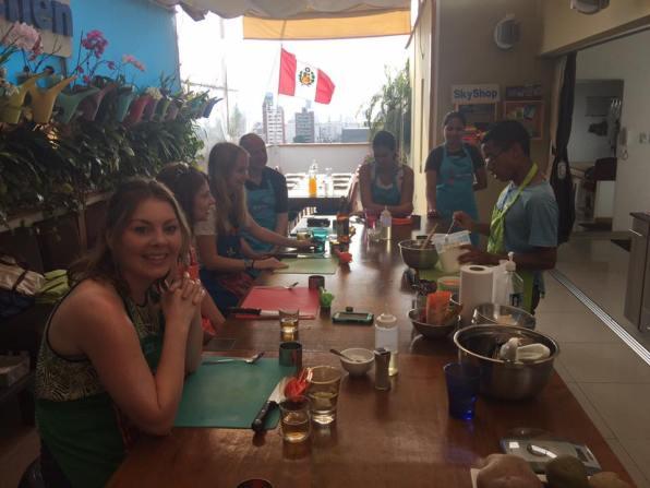 SkyKitchen cooking class Lima
