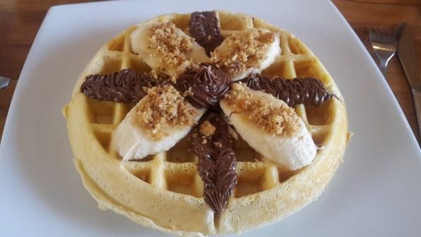 Arequipa, Peru waffle