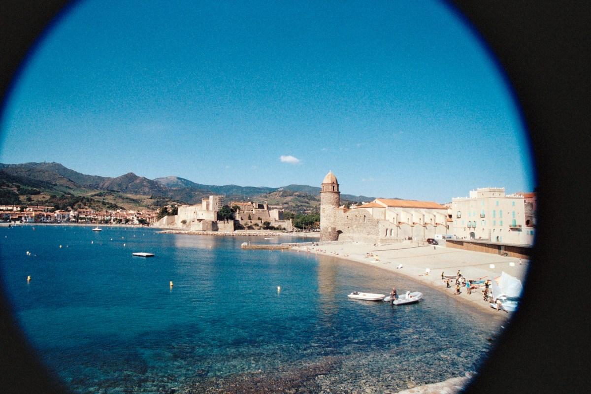 Mariage estival à Collioure, entre Méditerranée et Pyrénées...