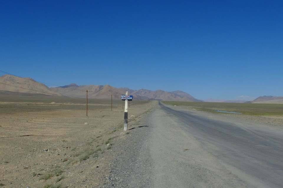 Tadjikistan route du Pamir highway