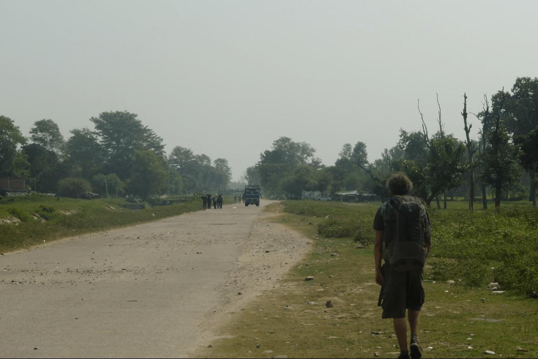 Passer la frontière entre le Népal et l'Inde à Banbasa (à pieds !)