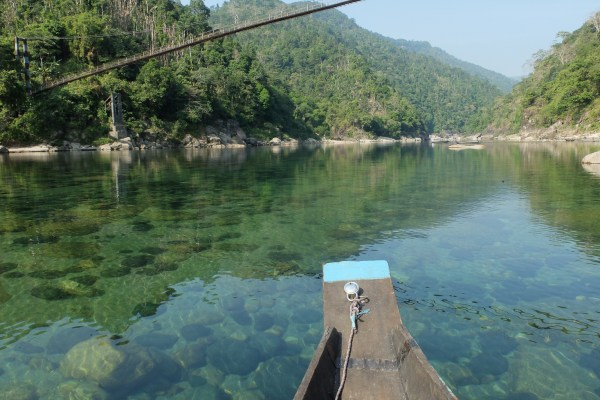 Meghalaya #2 : la cristalline rivière Umngot
