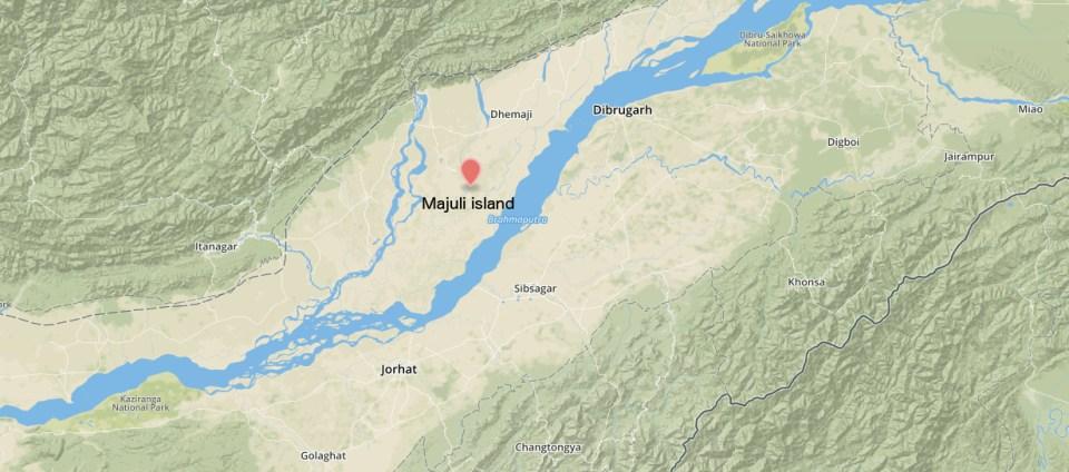 Map Majuli 2