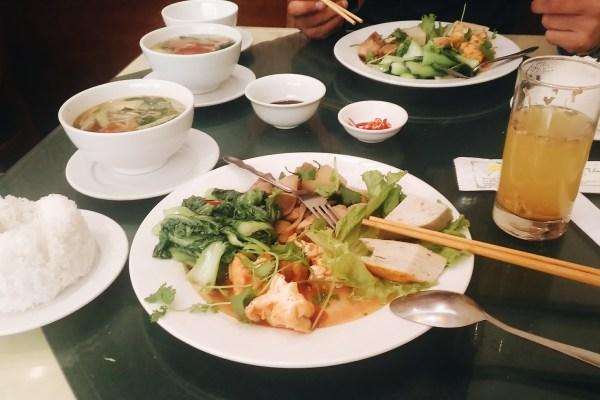 Mes adresses pour manger vegetalien à Hanoi