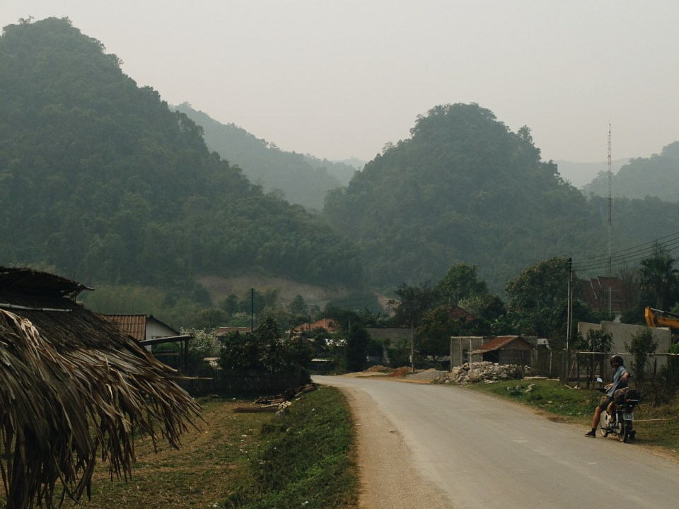 road-trip en scooter nord Laos