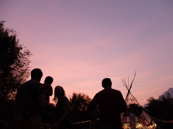 Le festival hippie Shambhala in your heart en Thaïlande