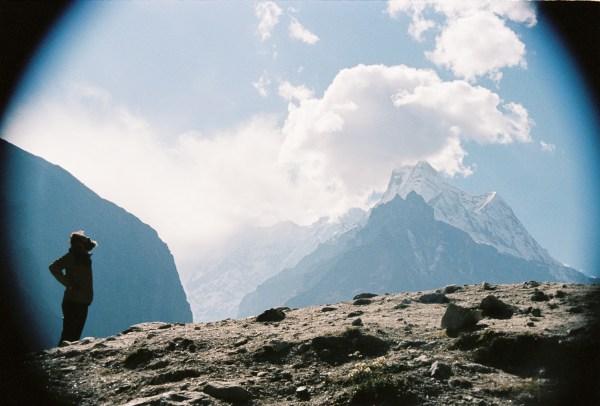 Badrinath en argentique : regard sur les sommets himalayens