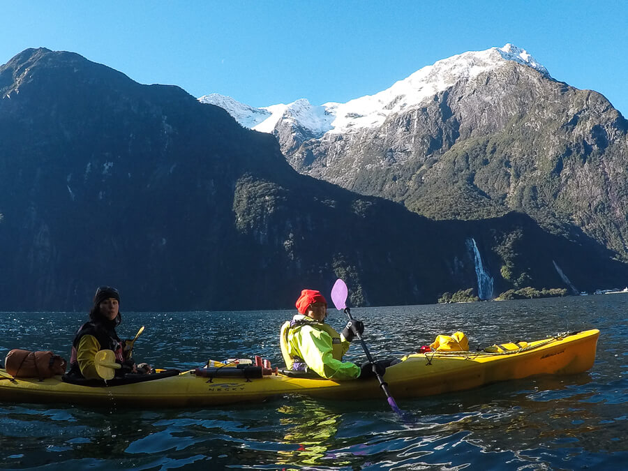 kayak Milford Sound
