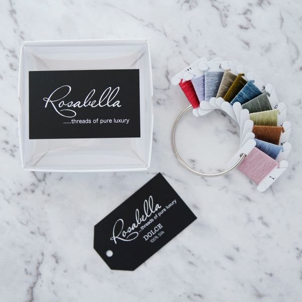Rosabella Dolche 100% Silk Yarn Sample Pack 1