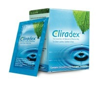 Cliradex T4O wipes for treating Eye Lash Mites
