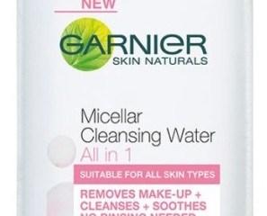 Micellar Water: Cleansing without rinsing