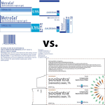 Soolantra better than Metrogel at long term remission