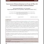 Iranian Traditional Medicince to treat Rosacea