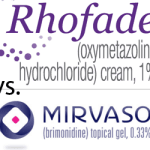 Rhofade vs. Mirvaso – trial them before you leave the surgery