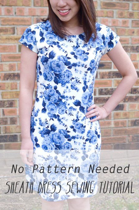 No pattern needed sheath dress