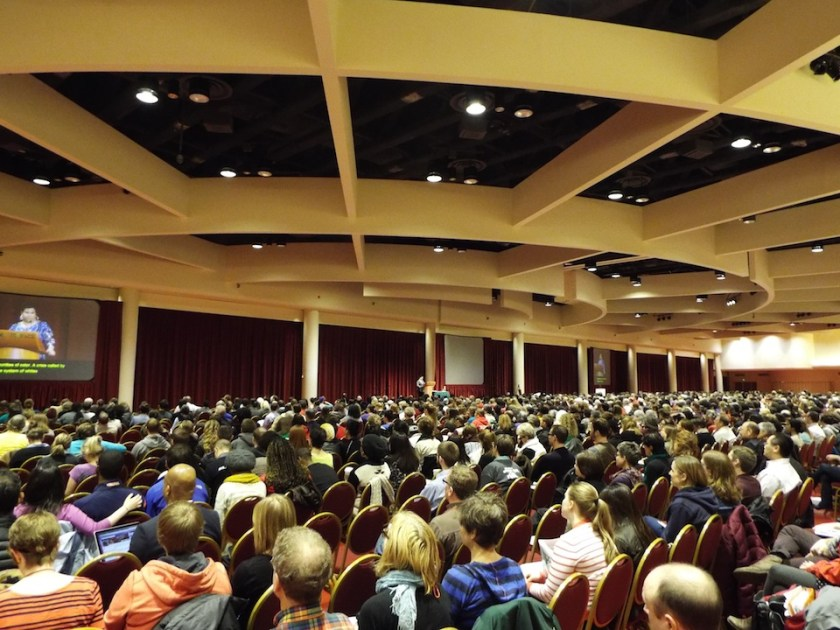 Audience White Privilege Conference, Madison Wi