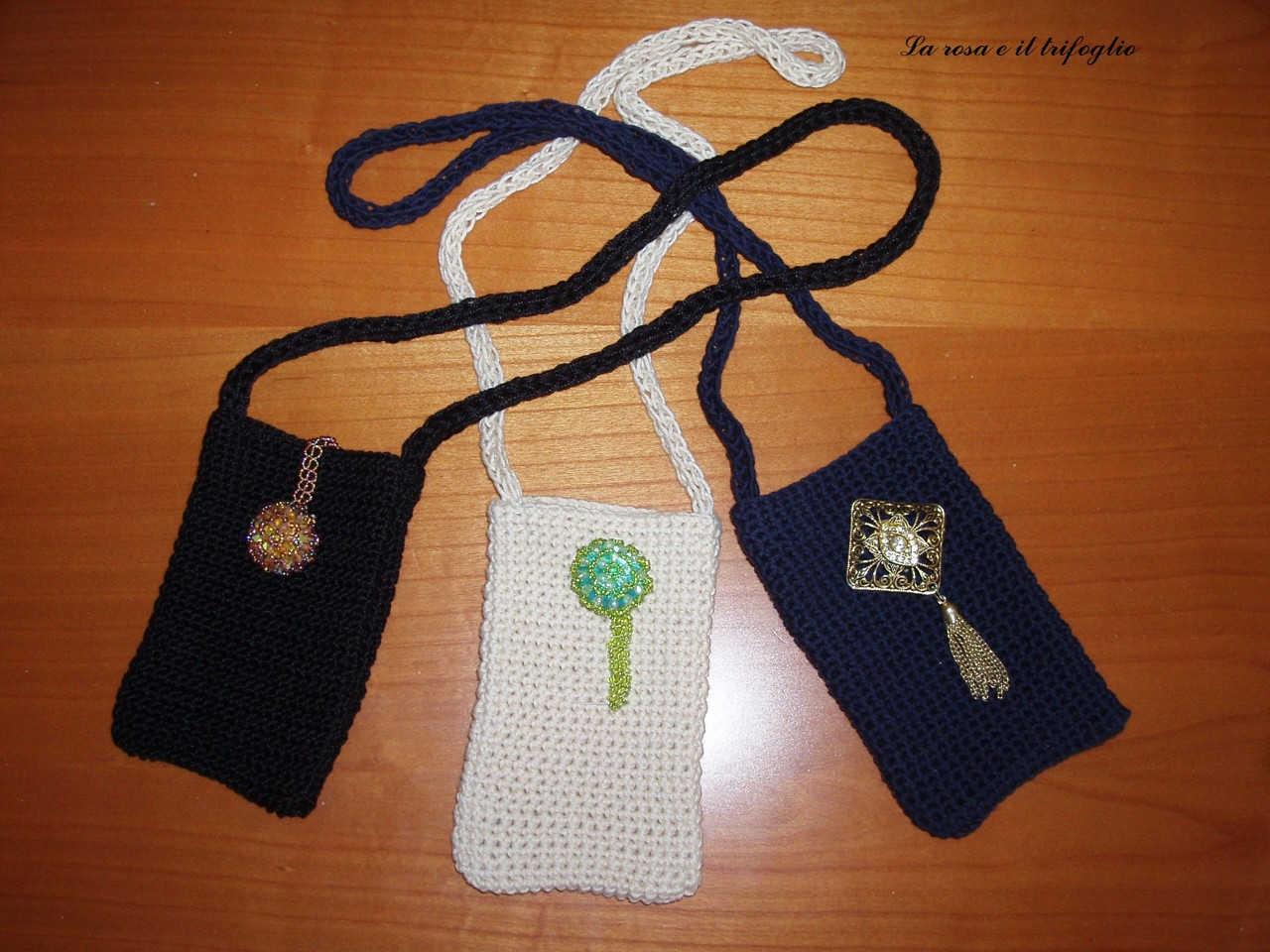 La rosa e il trifoglio capi in lana e cotone fatti a mano