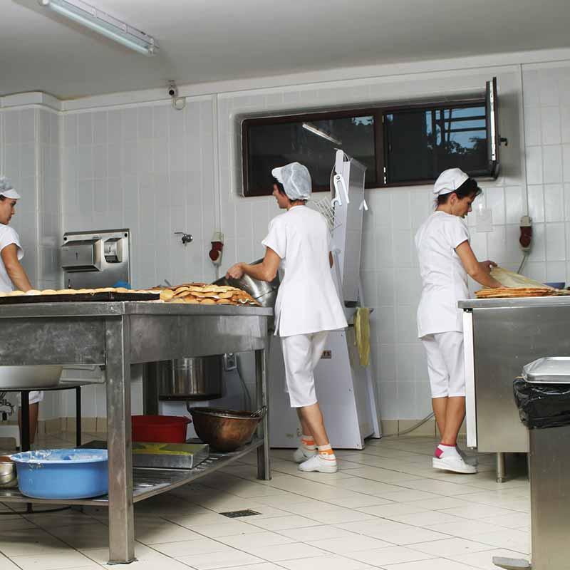 Rosa Gres  Cocina Industrial seguridad resistencia y