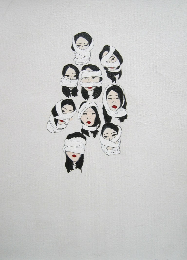 kyung via tumblr bandages series